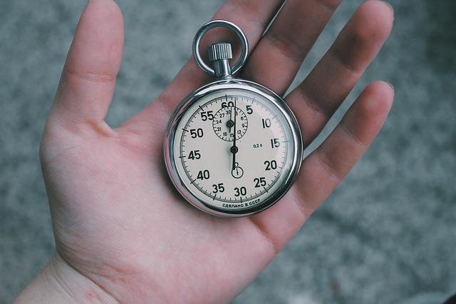 hodiny, měření