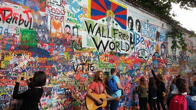 Graffiti, lidé